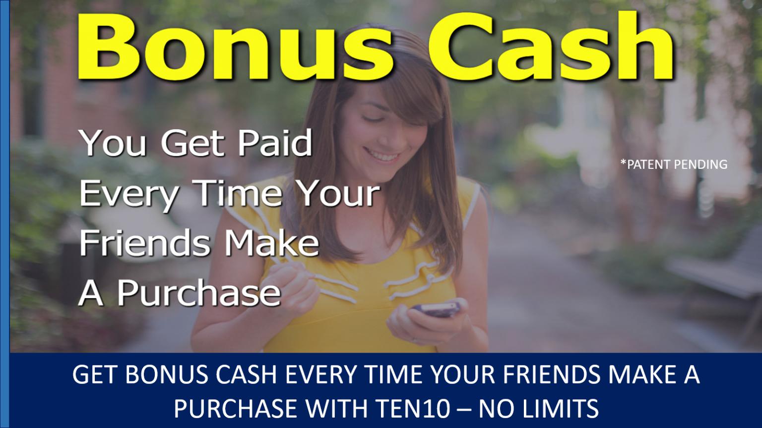 1818 - Receiving Bonus Cash - Ten10