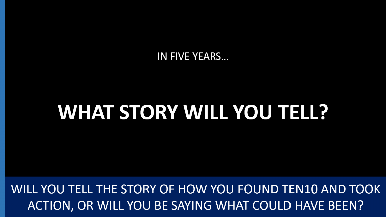 3131 - an Epic Story - Ten10