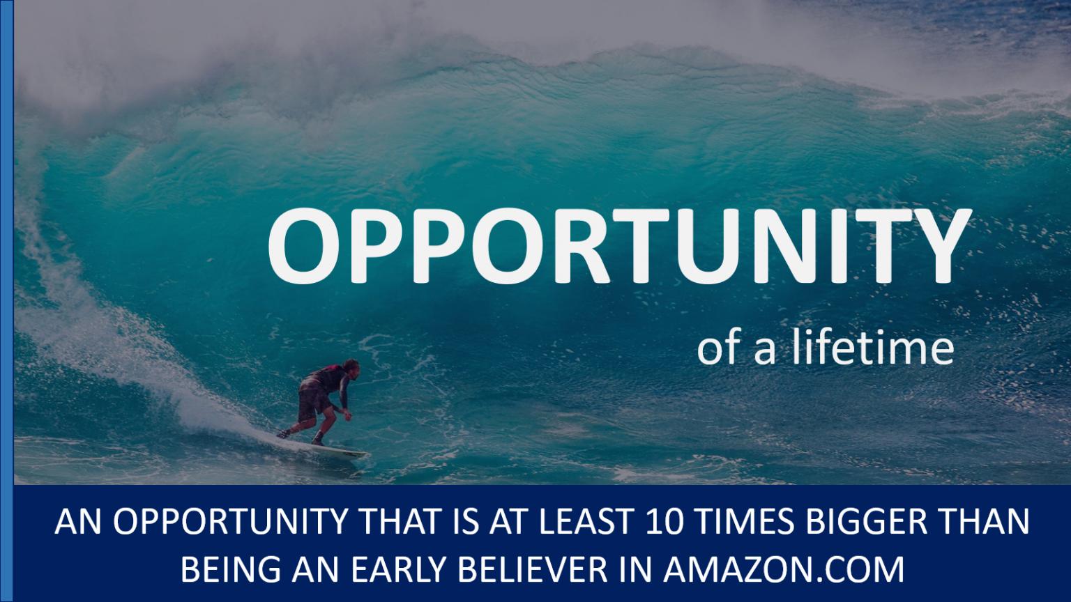 33 - Ten10 - Opportunity of a Lifetime