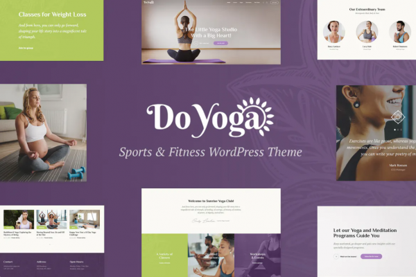 Free Health and Fitness Theme