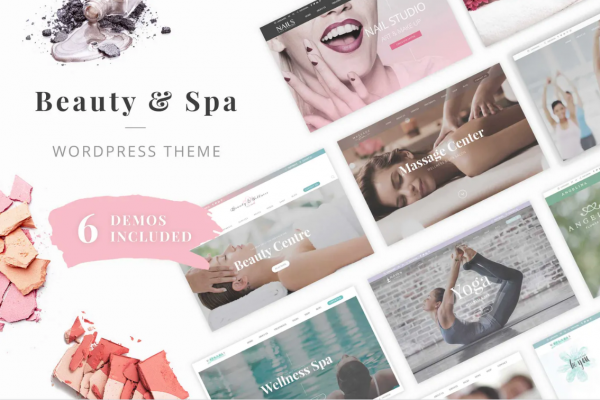 Free Salon and Spa Theme