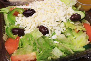 barre pizza chef salad