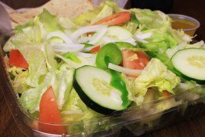 barre pizza salad